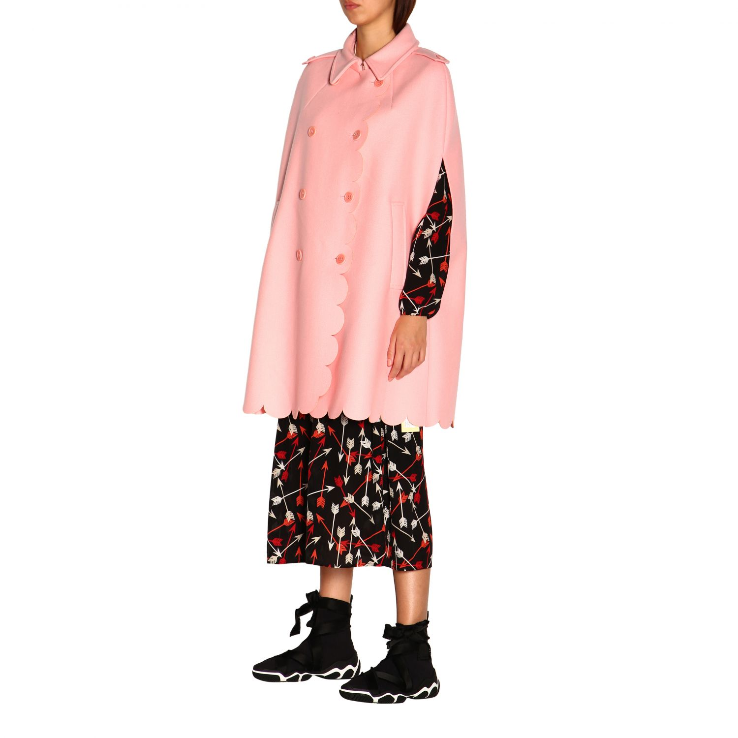 Cape women Red Valentino pink 4