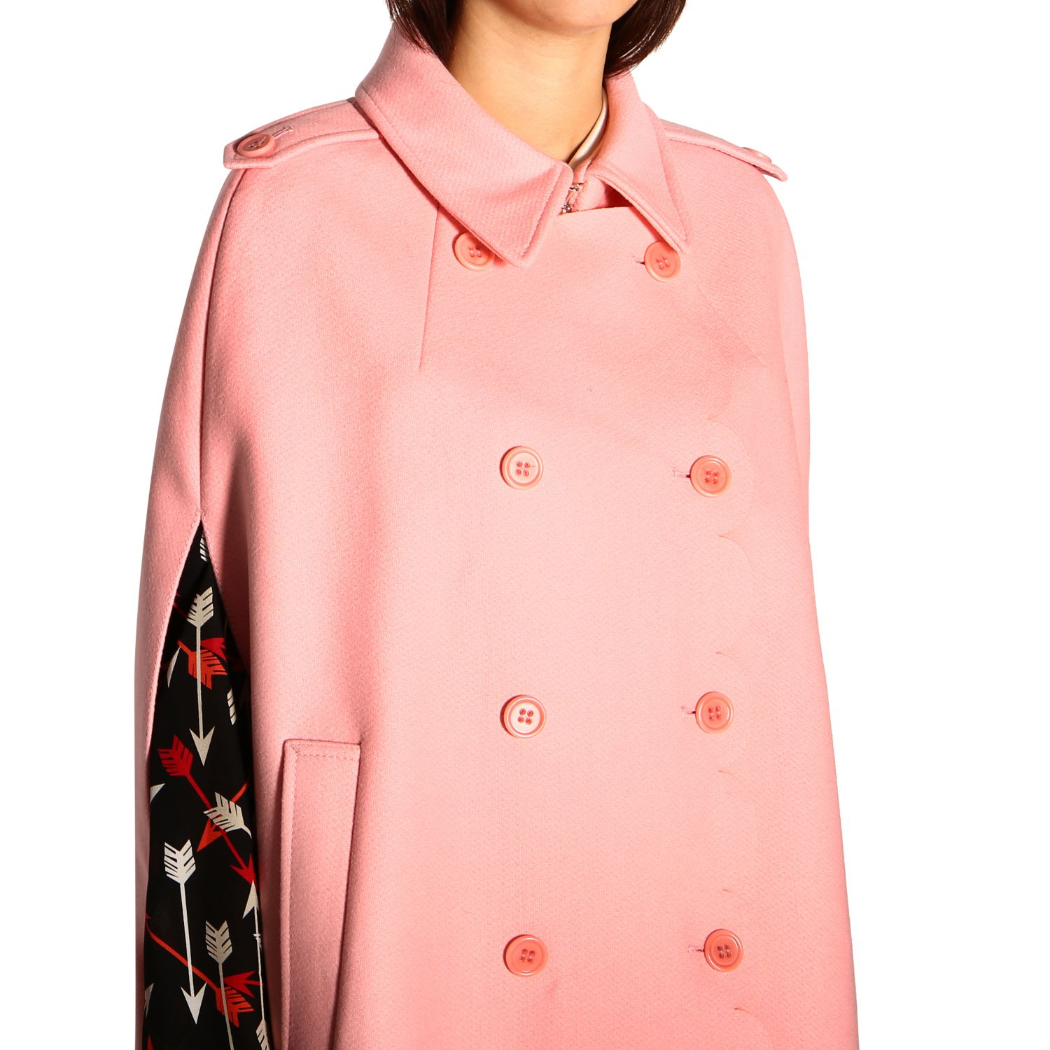 Cape women Red Valentino pink 5