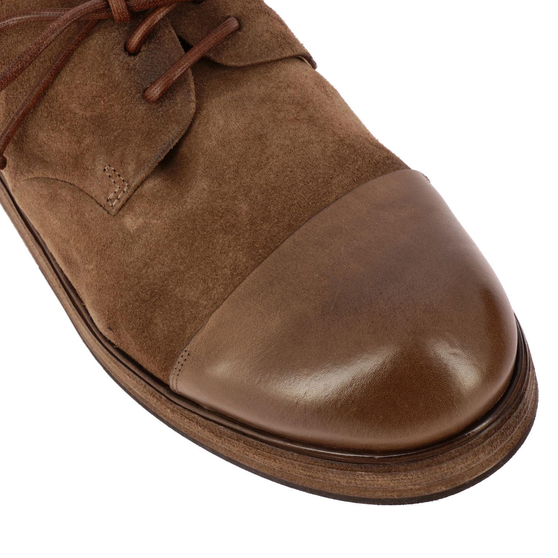 Дерби Zucca Zeppa Marsell из замшевой кожи коричневый 4