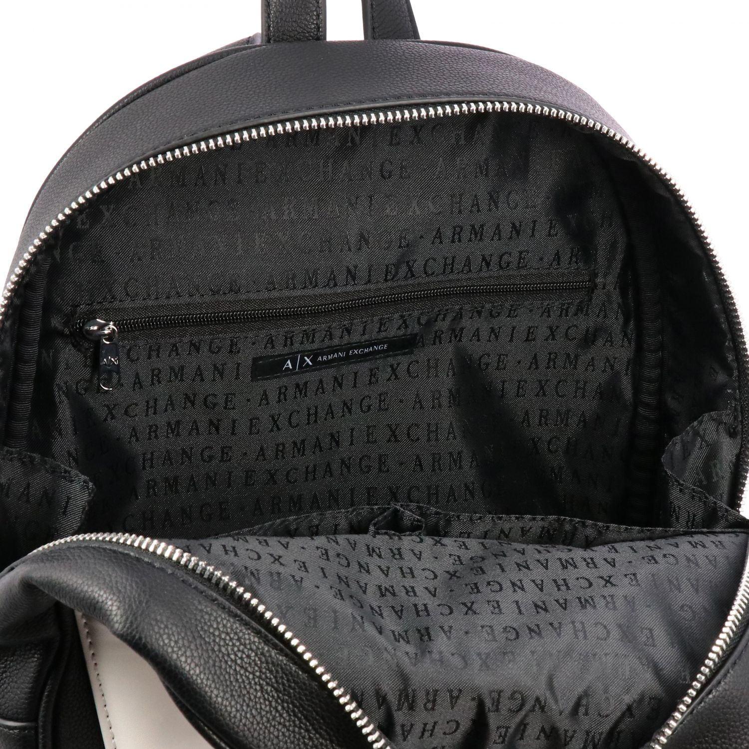 Sac à dos Armani Exchange: Sac porté main femme Armani Exchange noir 6