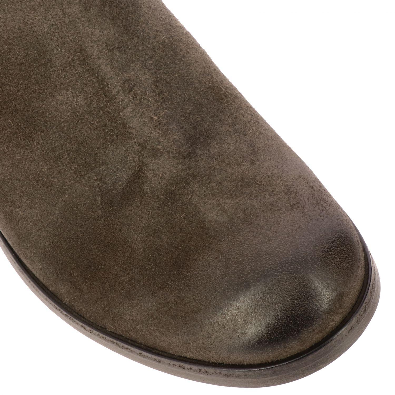 Tronchetto Zip Listo Marsell in camoscio con macro cerniera grigio 4