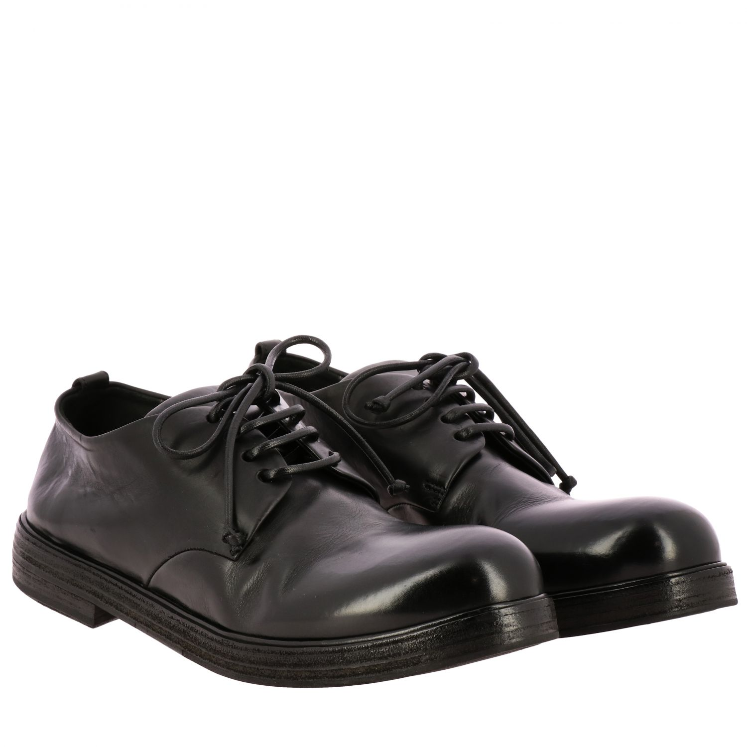 Brogue shoes men Marsell black 2