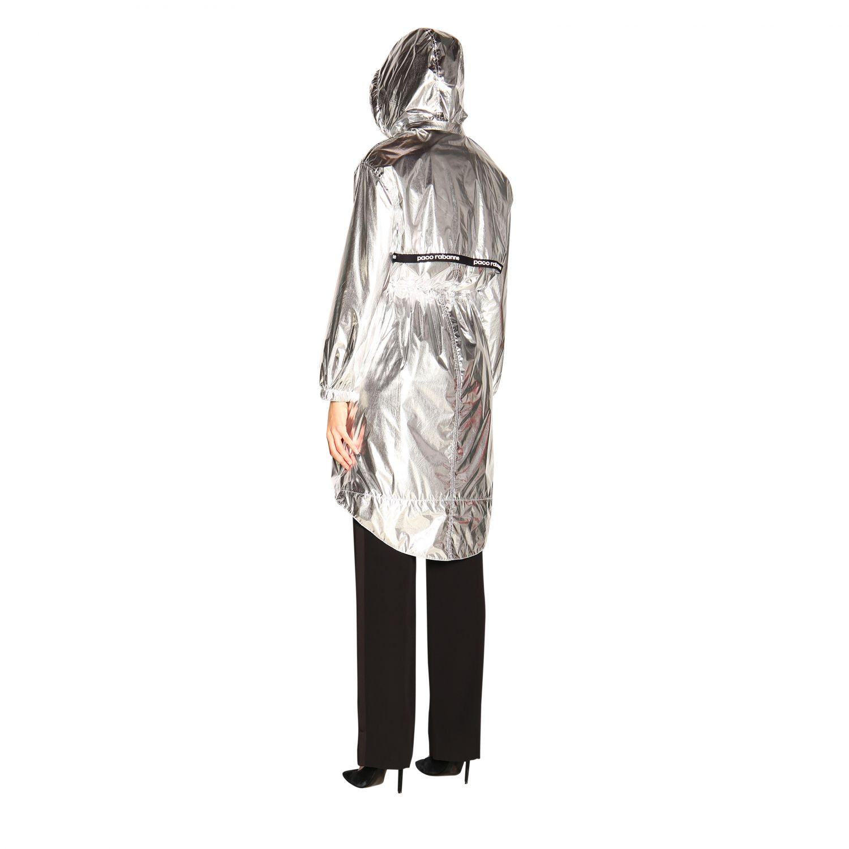 Пальто Женское Paco Rabanne серебряный 3