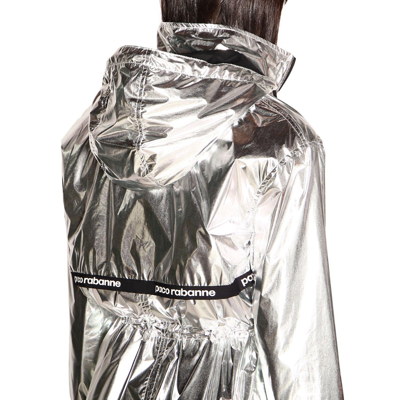 Пальто Женское Paco Rabanne серебряный 5