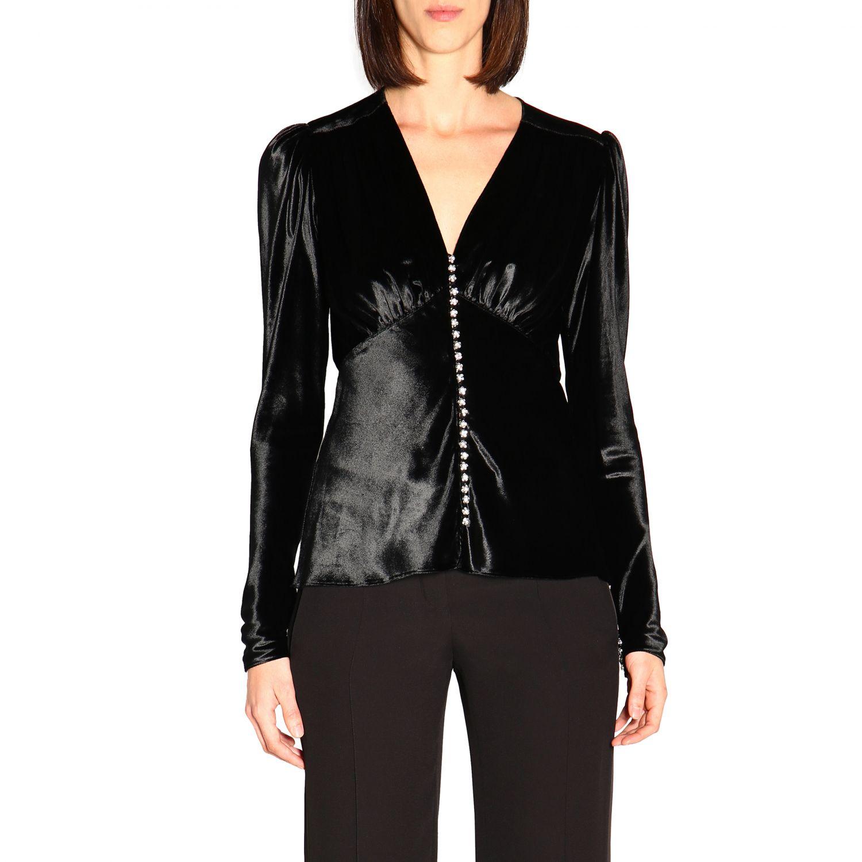 Camicia donna Paco Rabanne nero 1