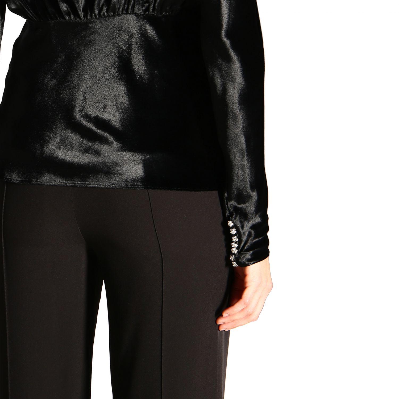 Camicia donna Paco Rabanne nero 5