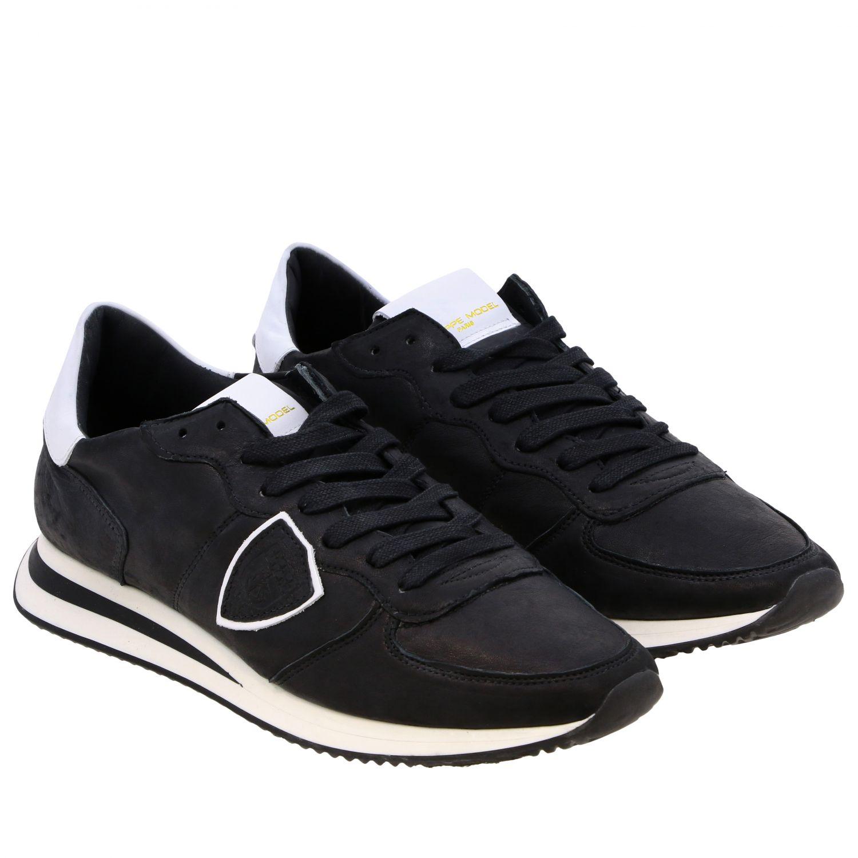 Sneakers uomo Philippe Model nero 2