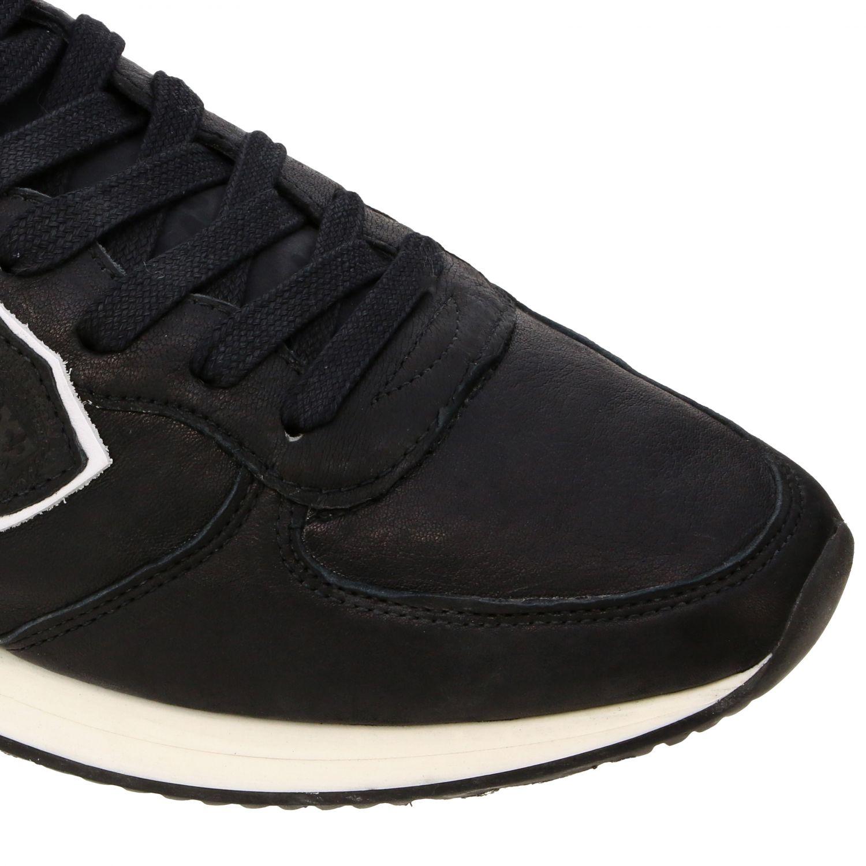 Sneakers uomo Philippe Model nero 4
