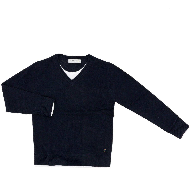 Sweater kids Manuel Ritz blue 1