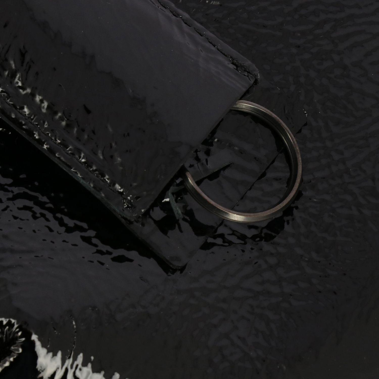 Borsa a tracolla Fantasmetto Marsell in vernice nero 4