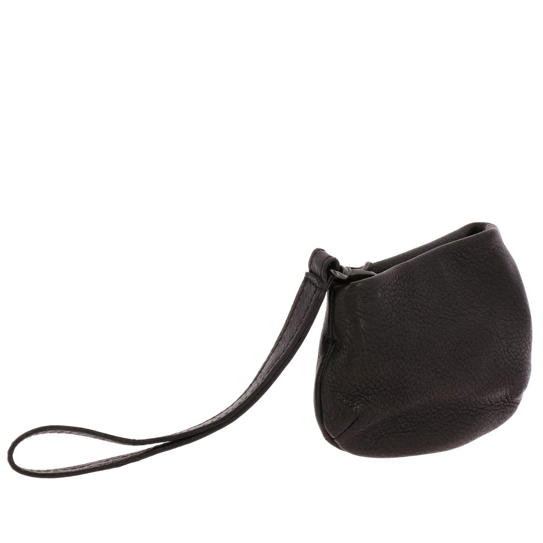 Marsell wristlet Minifanta in genuine leather black 3