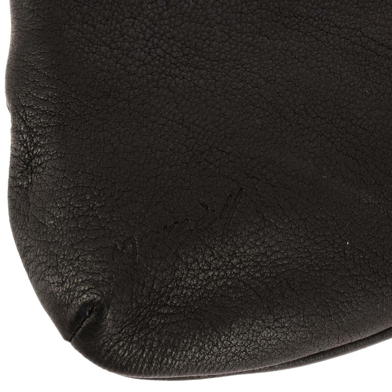 Marsell wristlet Minifanta in genuine leather black 4