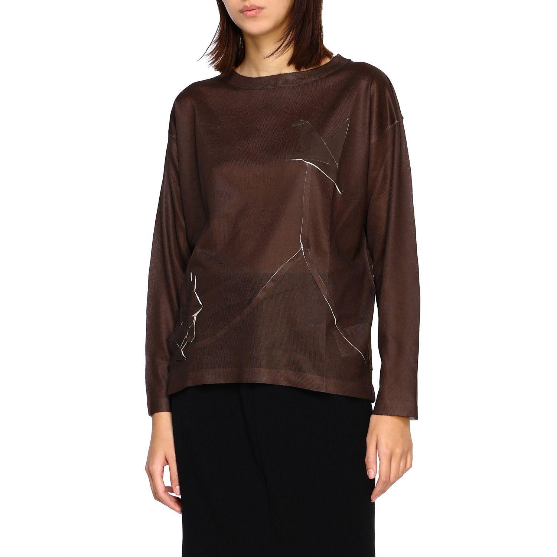 Sweater women Yoshi Kondo green 4