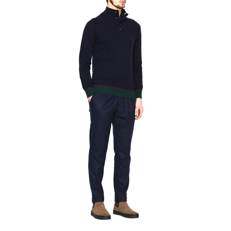 Sweater Alpha Studio: Sweater men Alpha Studio blue 2