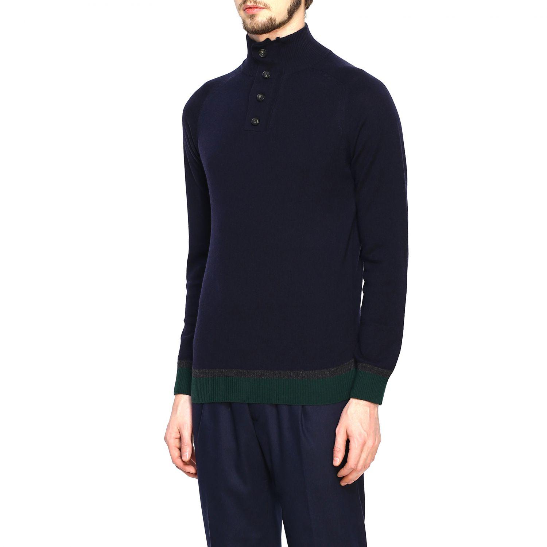 Sweater Alpha Studio: Sweater men Alpha Studio blue 4