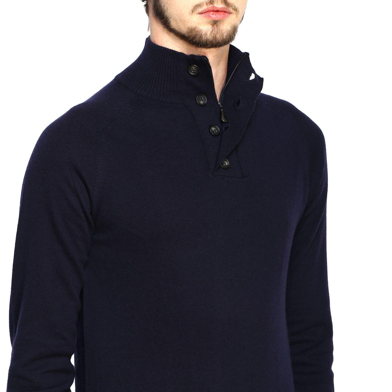 Sweater Alpha Studio: Sweater men Alpha Studio blue 5
