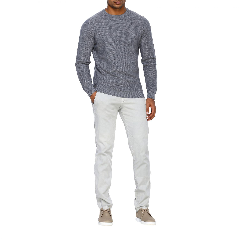 Sweater Alpha Studio: Sweater men Alpha Studio grey 2