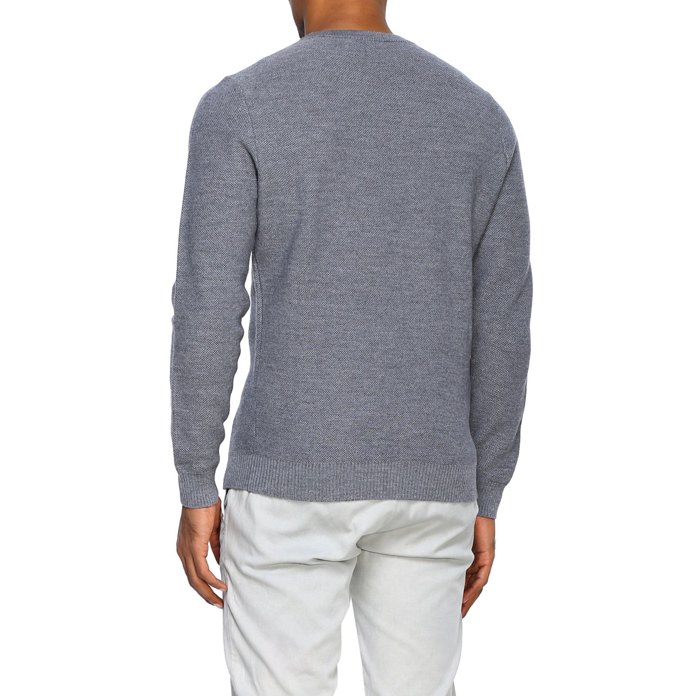 Sweater Alpha Studio: Sweater men Alpha Studio grey 3