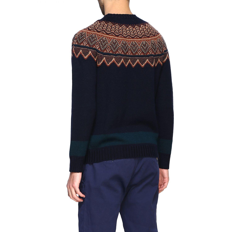 Sweater Alpha Studio: Sweater men Alpha Studio blue 3