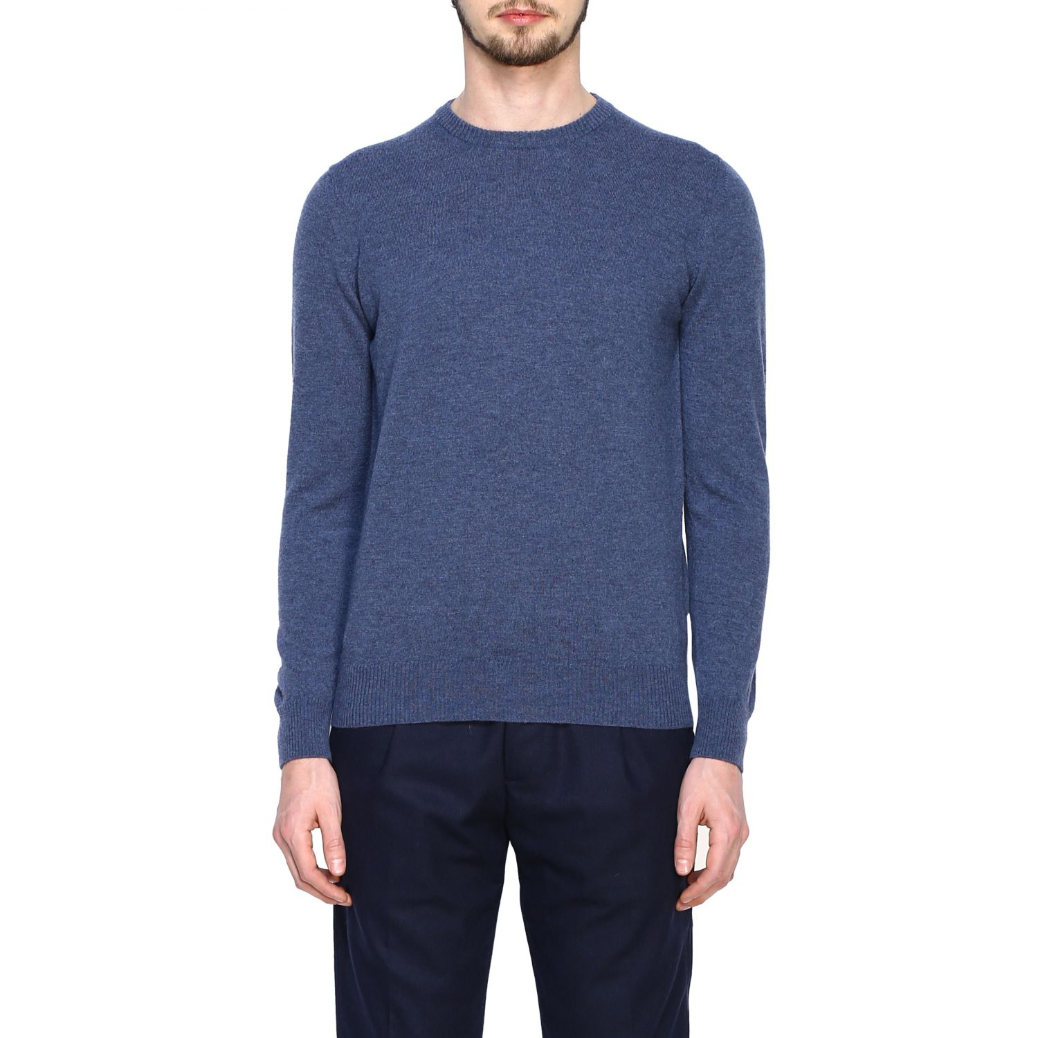 Jumper Alpha Studio: Jumper men Alpha Studio denim 1