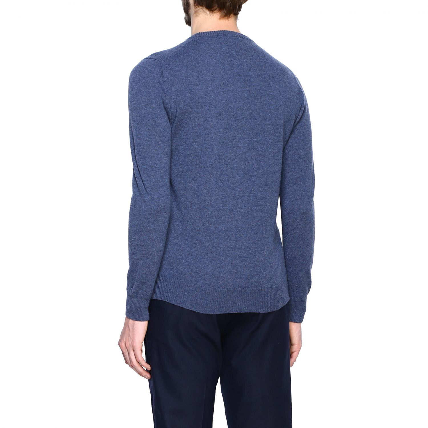 Jumper Alpha Studio: Jumper men Alpha Studio denim 3