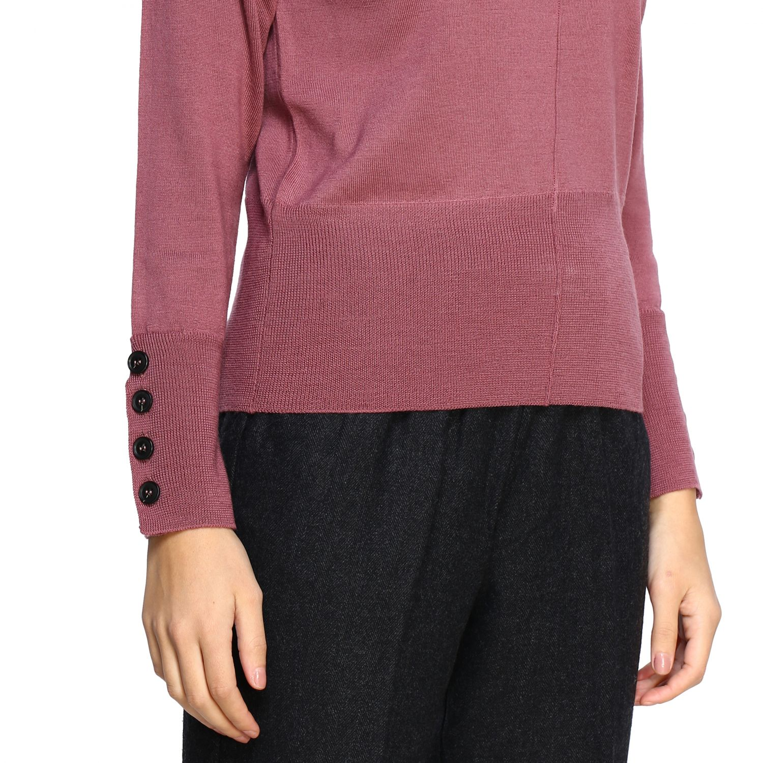 Sweater Alpha Studio: Sweater women Alpha Studio brick red 5