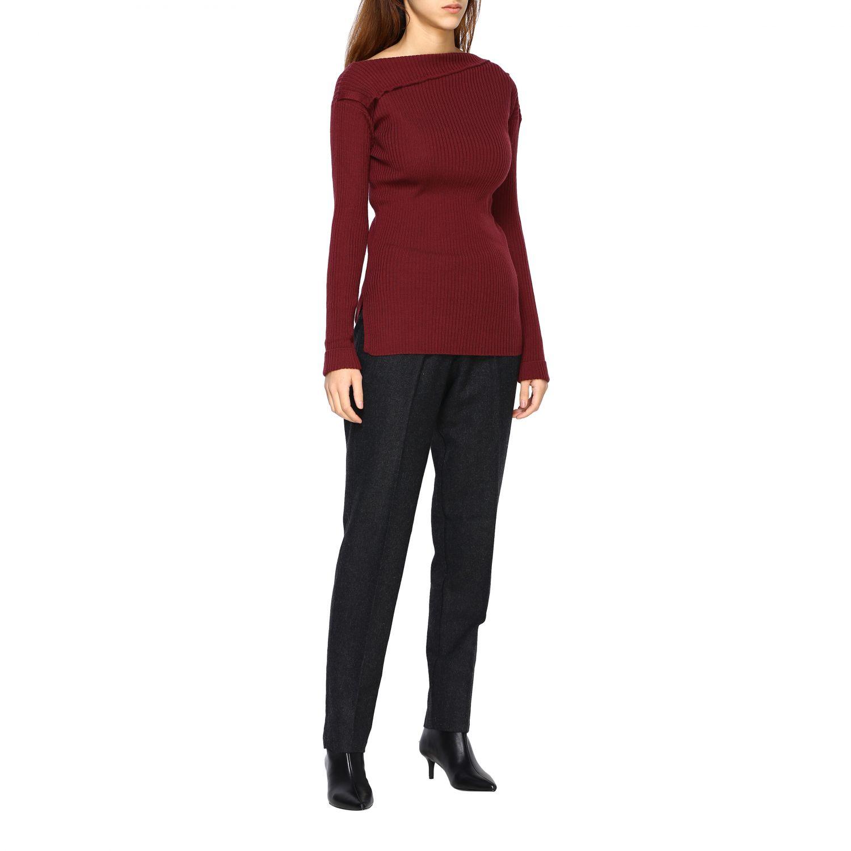 Sweater Alpha Studio: Sweater women Alpha Studio mahogany 2