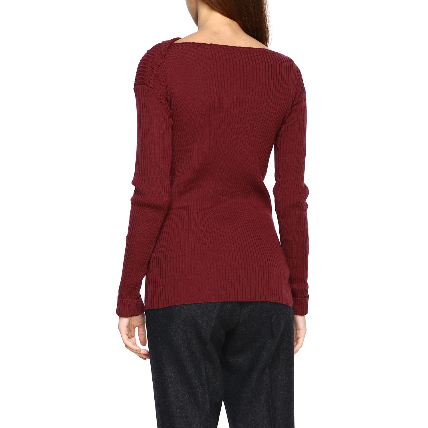 Jumper Alpha Studio: Jumper women Alpha Studio mahogany 3