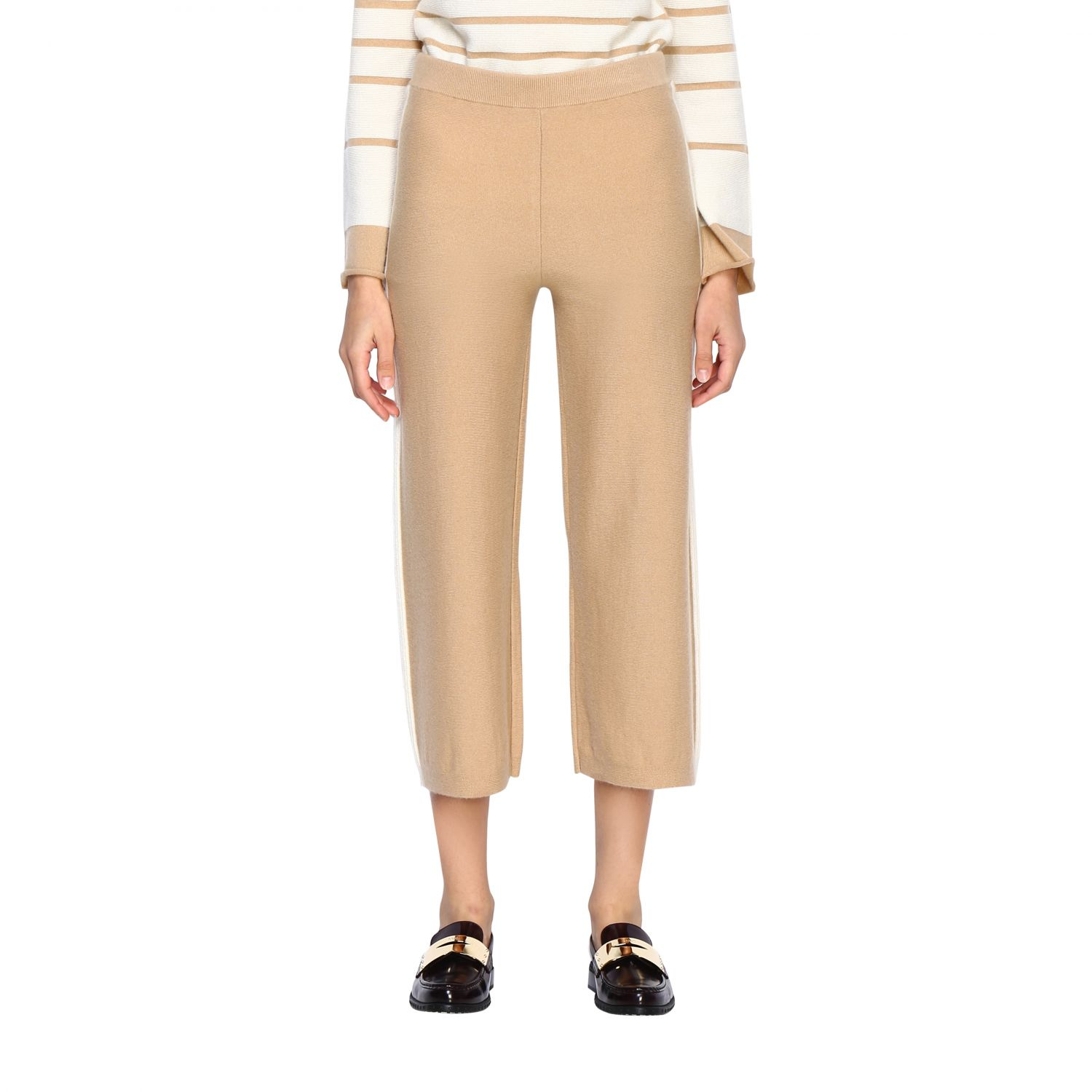 Trousers Alpha Studio: Trousers women Alpha Studio honey 1