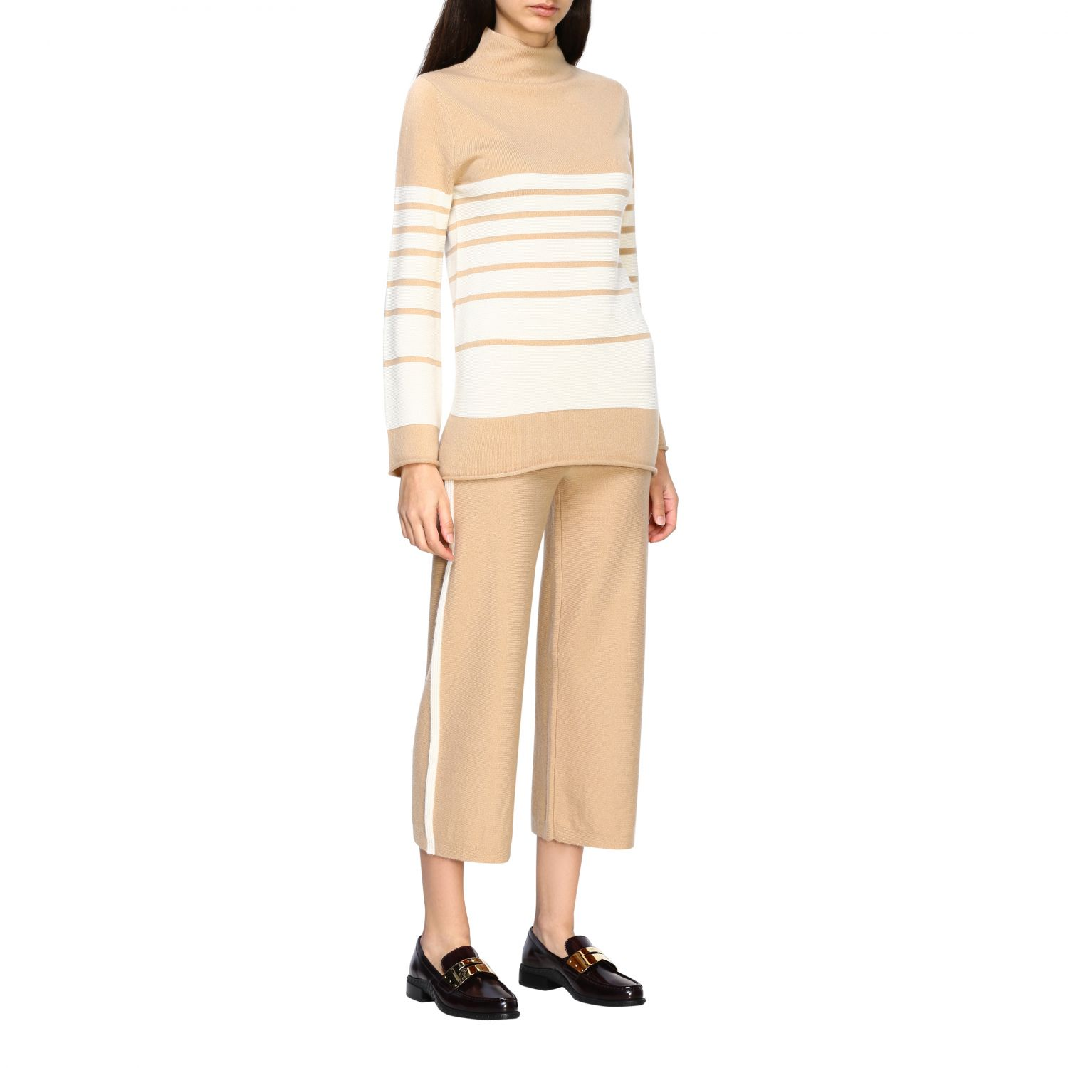Trousers Alpha Studio: Trousers women Alpha Studio honey 2