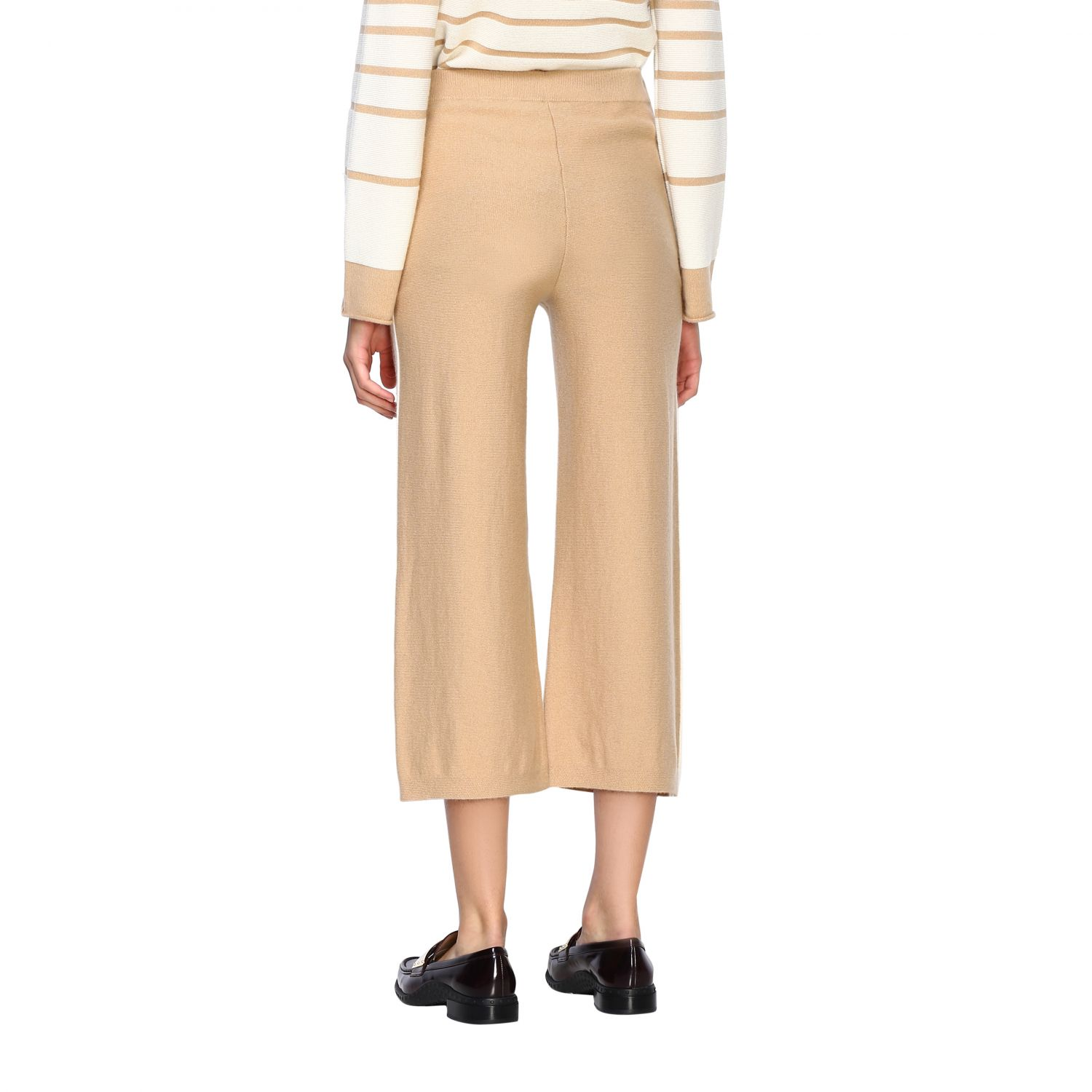 Trousers Alpha Studio: Trousers women Alpha Studio honey 3