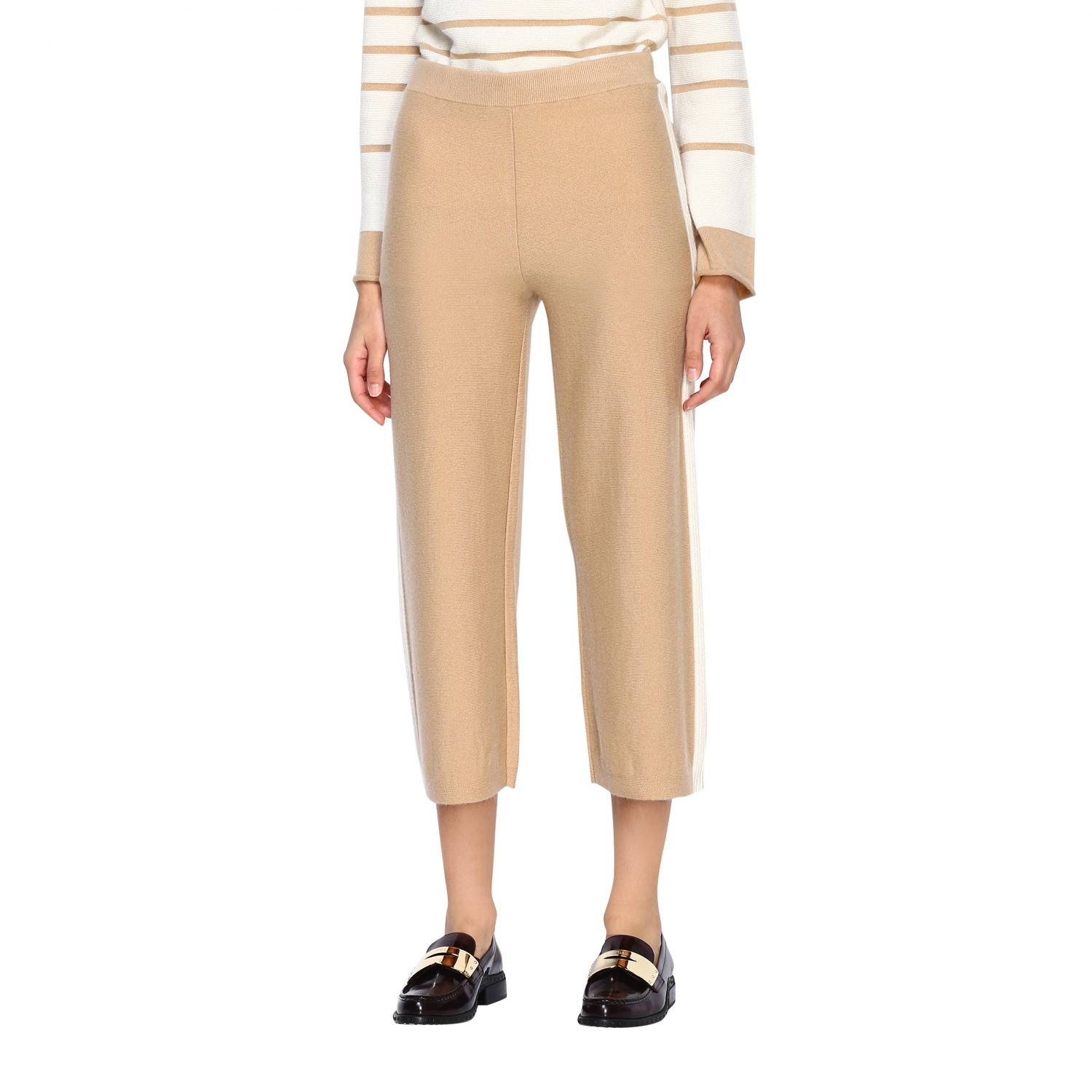 Trousers Alpha Studio: Trousers women Alpha Studio honey 4