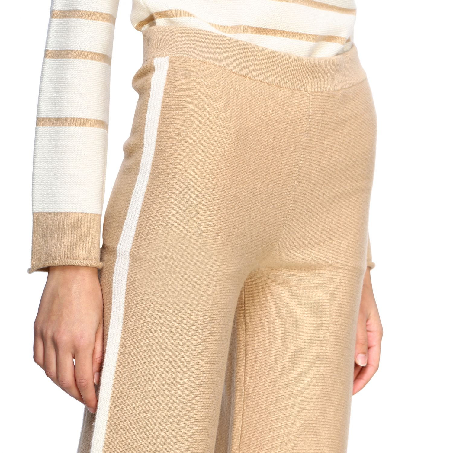 Trousers Alpha Studio: Trousers women Alpha Studio honey 5