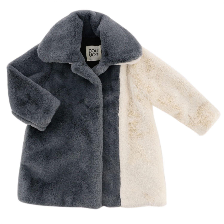 Abrigo niños Douuod gris 1