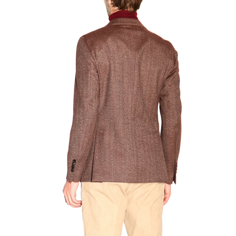 Jacket men Lardini brown 3