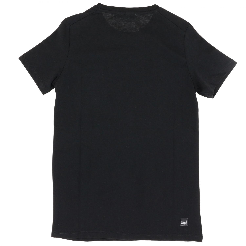 T-shirt enfant Paolo Pecora noir 2