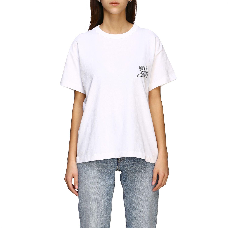 T-shirt women Alexander Wang white 1