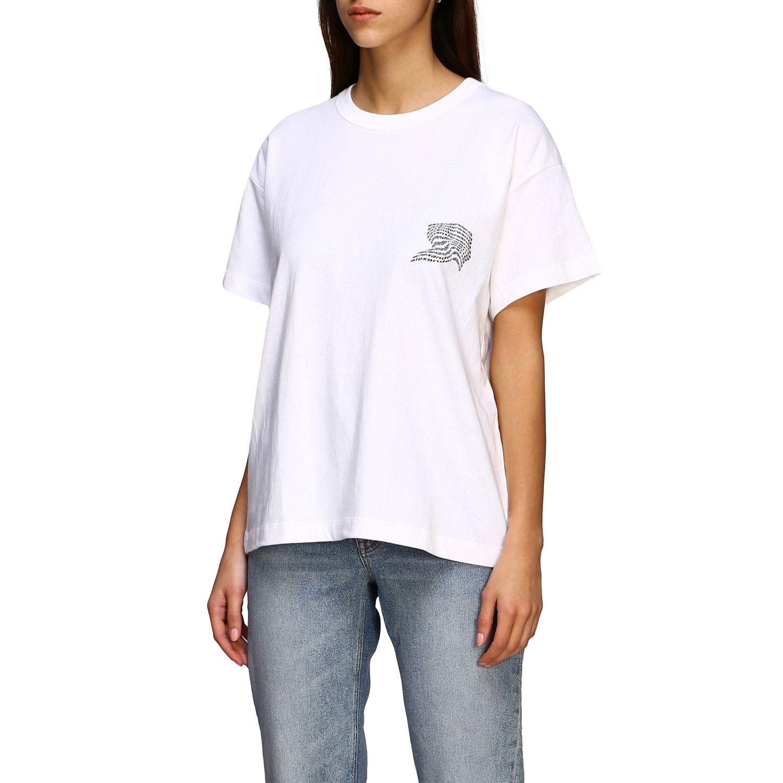 T-shirt women Alexander Wang white 4