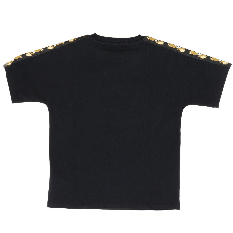 Moschino Kid 儿童T恤 黑色 2
