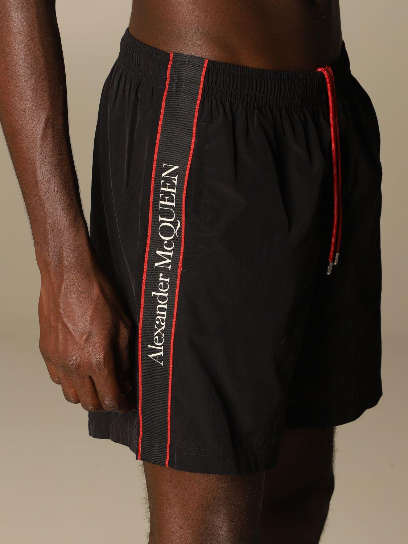 Купальные плавки Mcq Mcqueen: Купальные плавки Мужское Mcq Mcqueen черный 4