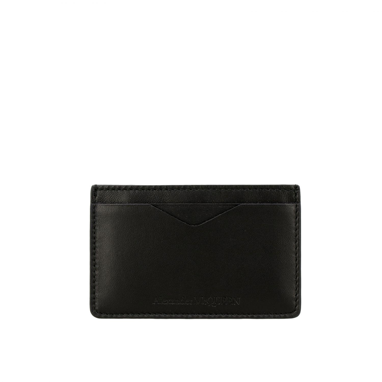 Wallet Mcq Mcqueen: Wallet men Mcq Mcqueen black 1