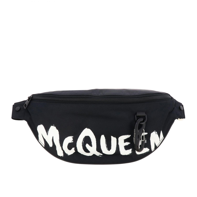Сумка на поя Mcq Mcqueen: Сумка на ремне Мужское Mcq Mcqueen белый 1