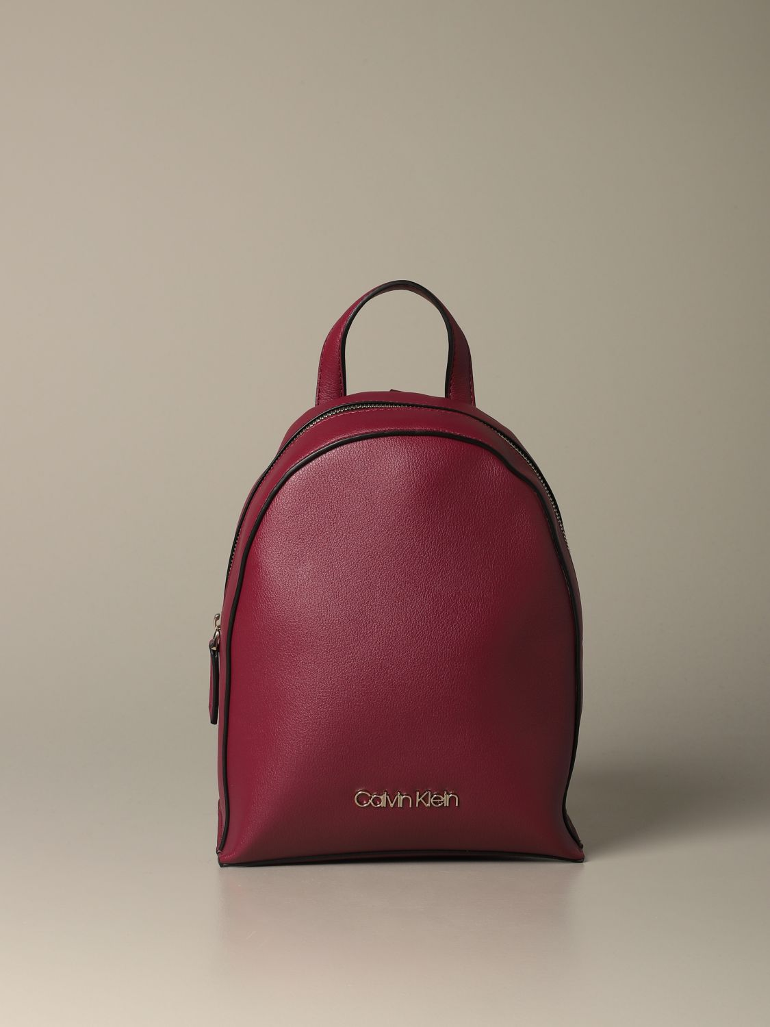 Backpack women Calvin Klein red 1