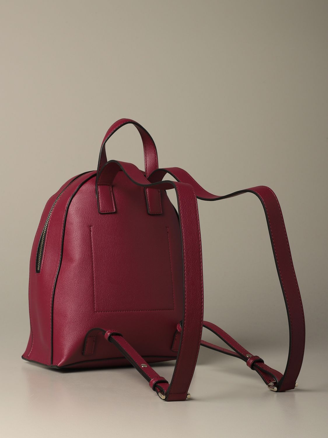 Backpack women Calvin Klein red 2