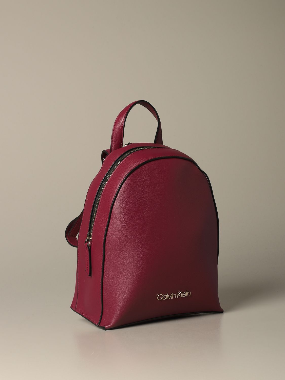 Backpack women Calvin Klein red 3