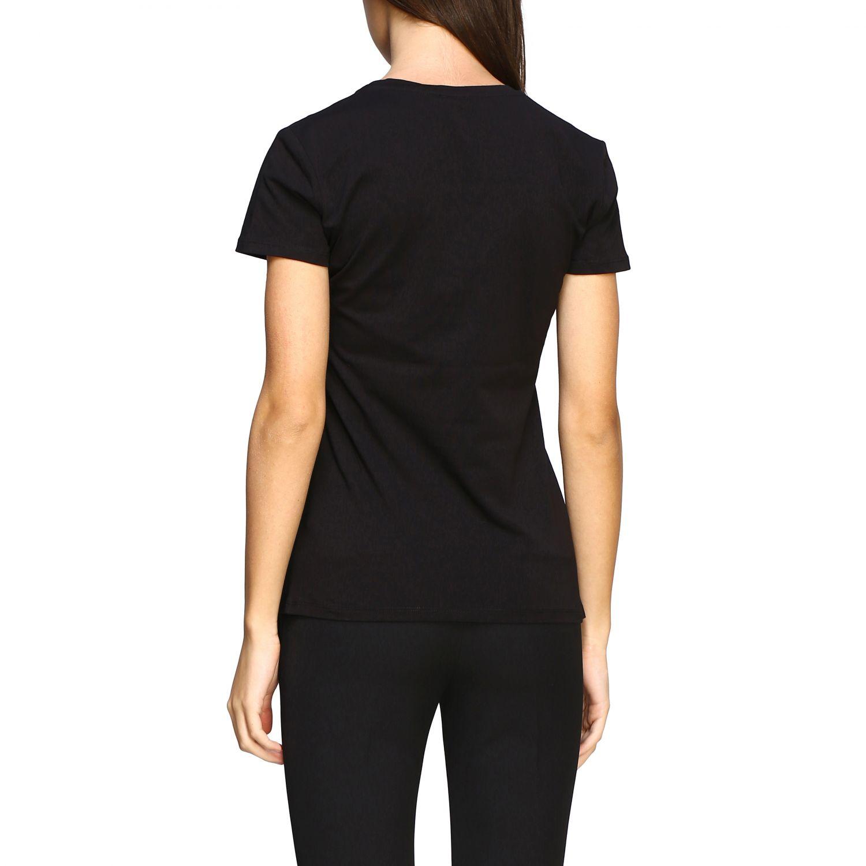 Camiseta mujer Liu Jo negro 3