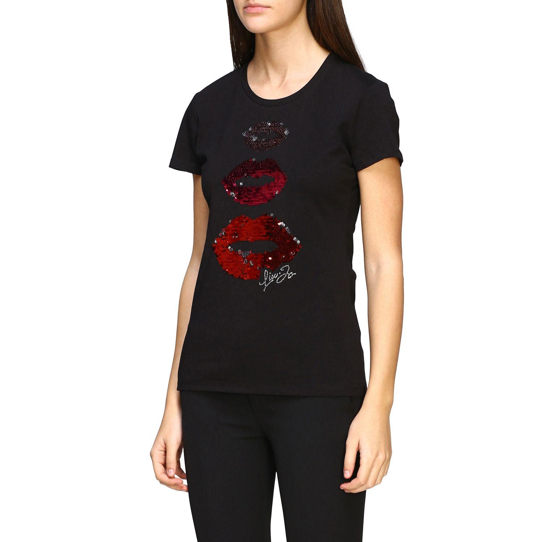 Camiseta mujer Liu Jo negro 4