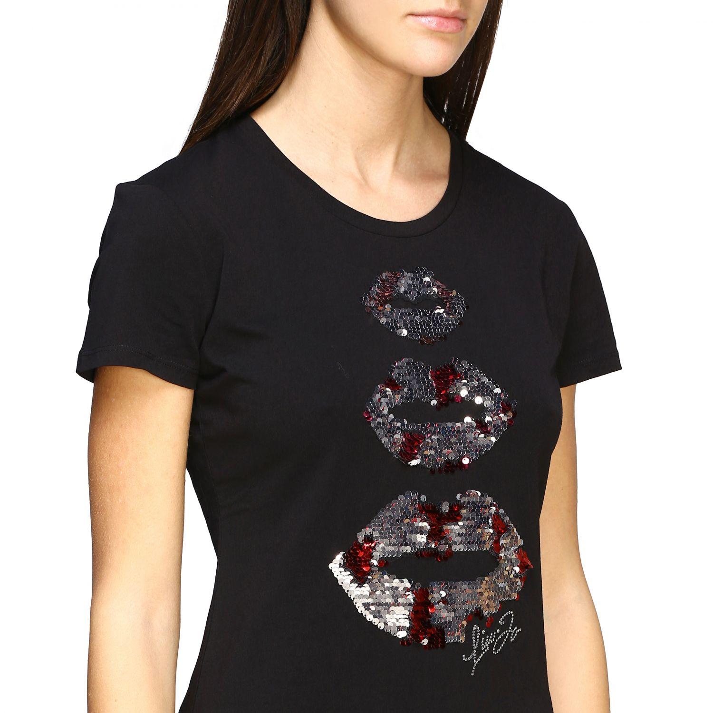 Camiseta mujer Liu Jo negro 5