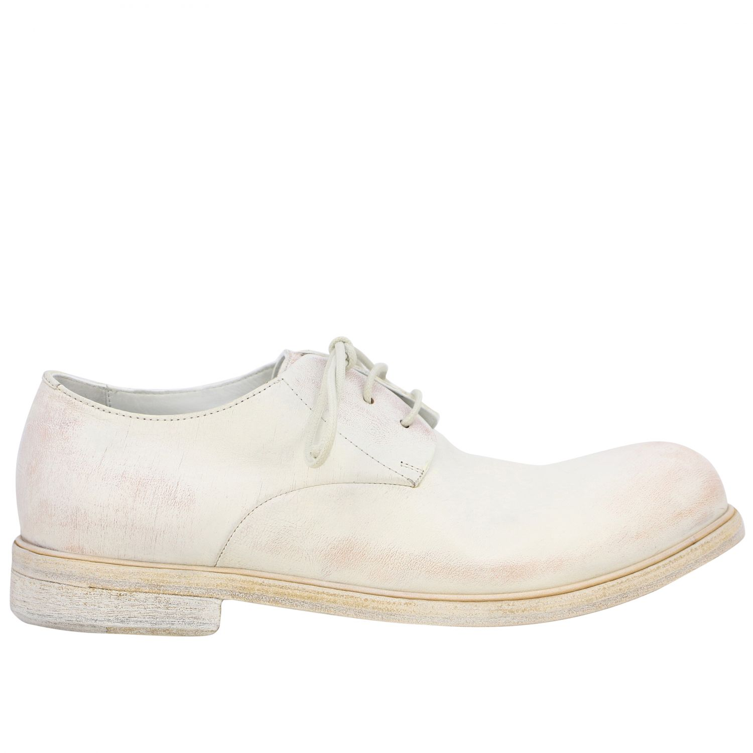Brogue shoes men Marsell white 1
