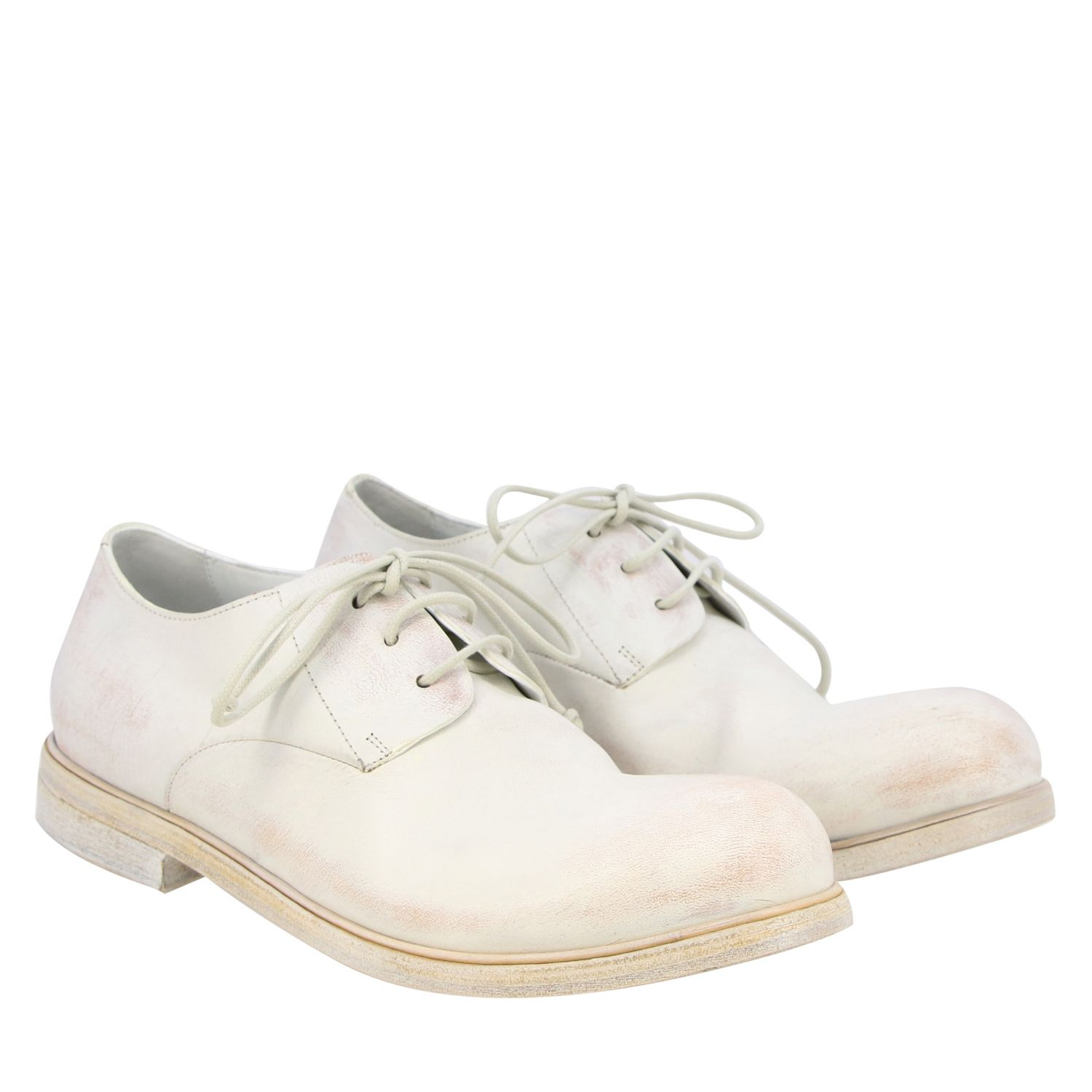 Brogue shoes men Marsell white 2